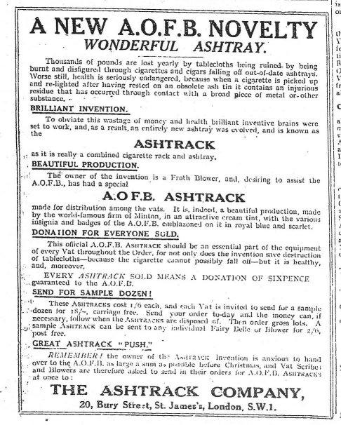 Ashtrack ad