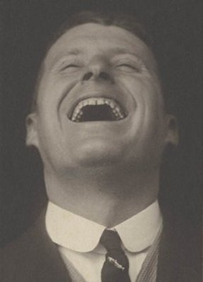 Bert Temple circa 1920 laughing