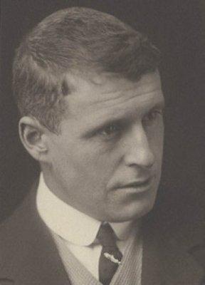 Bert Temple circa 1920 pensive