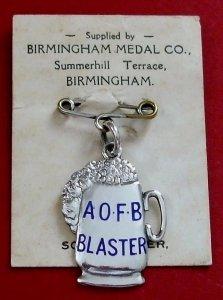 Blaster badge