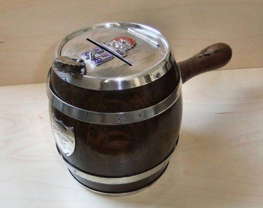 Barrel oast box in profile