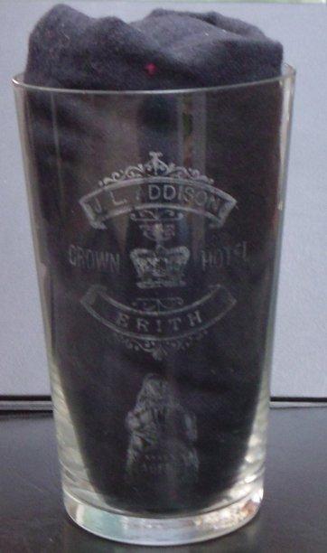 J L Addison Personal Glass