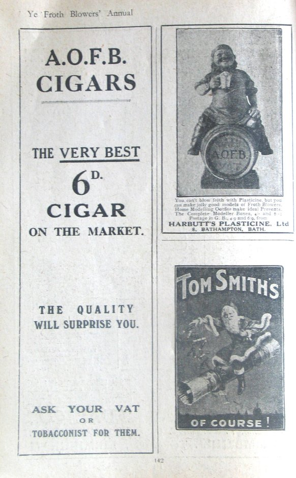 Ads from the annual