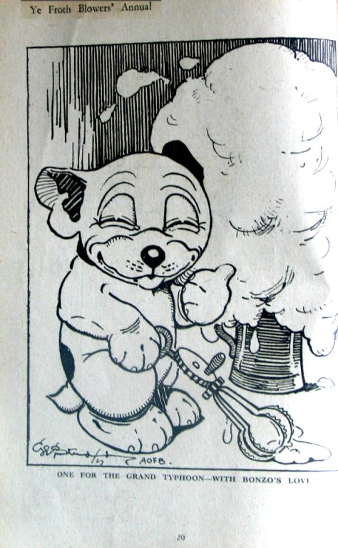 Bonzo cartoon from the Annual