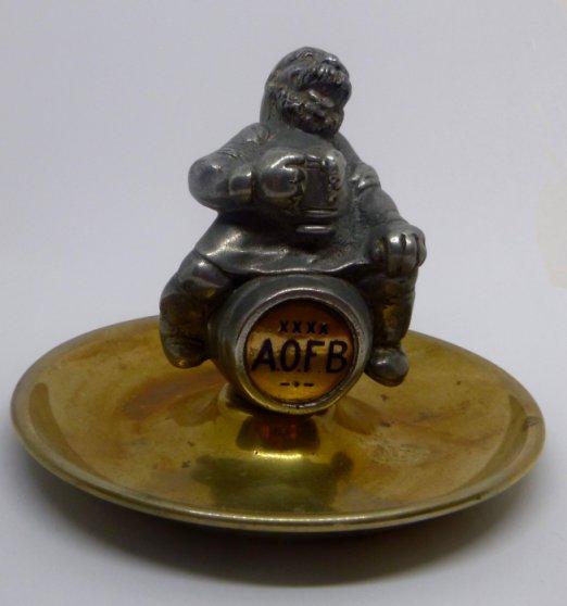 Bert Temple's ashtray