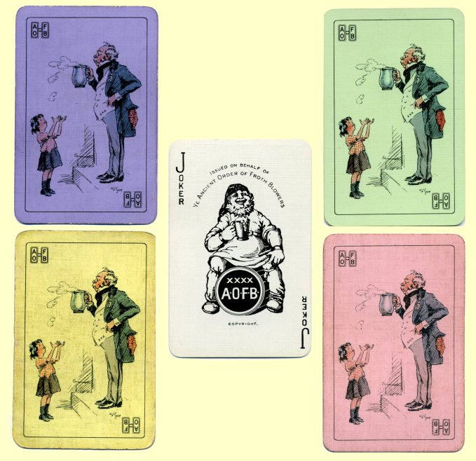 AOFB playing card colours