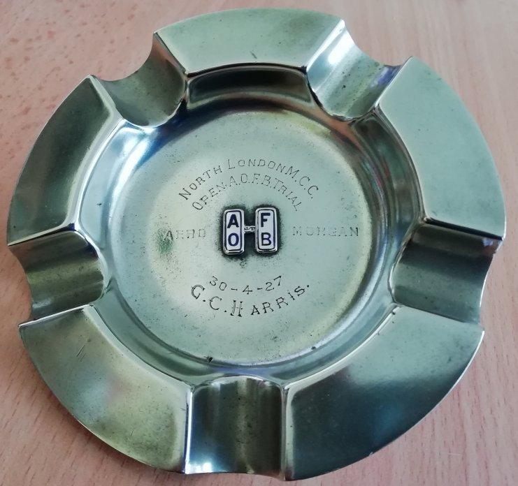 Ashtray Trophy