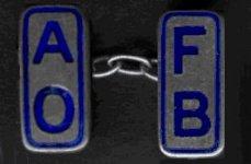 A.O.F.B. cufflink
