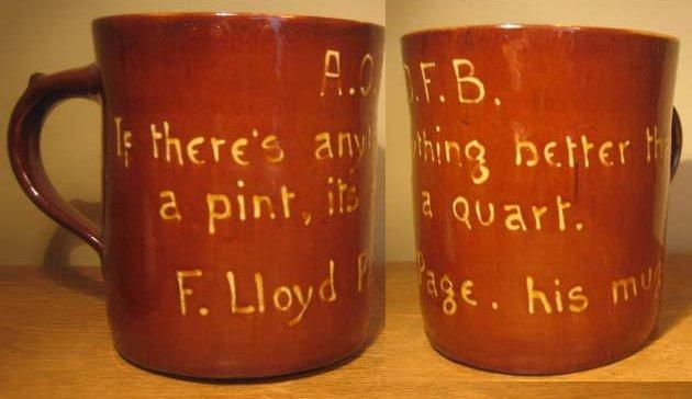 F Lloyd Page Mug