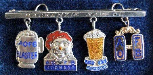 Grand Typhoon Mac Savage Medal Bar