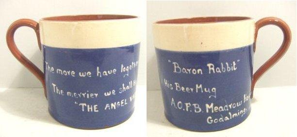 Baron Rabbits' mug