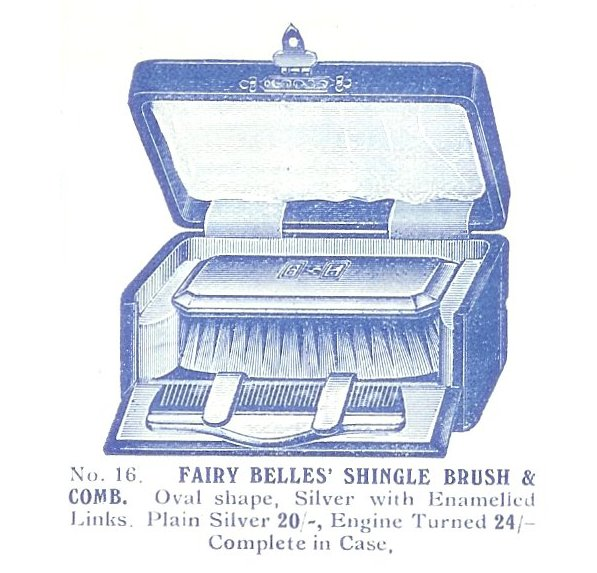 Fairy Belle shingle brush ad