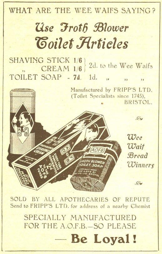 Toiletries ad